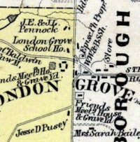 London Grove meeting map