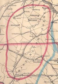 Warrington Quarter 1850