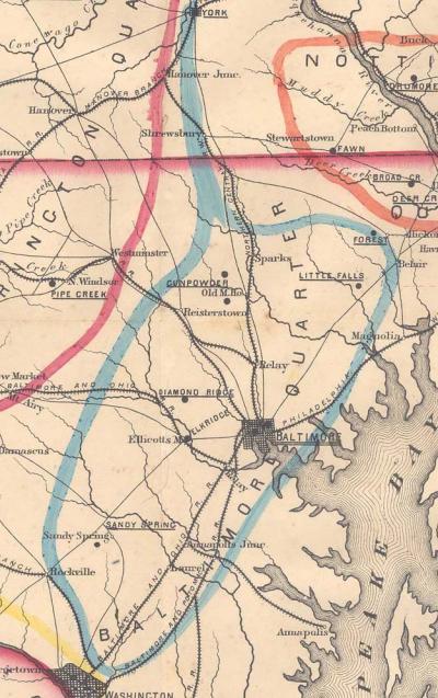 Baltimore Quarter 1850
